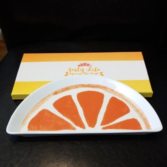 Rosanna Other - Semi circle grapefruit tray